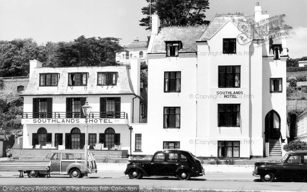 Budleigh Salterton, Southlands Hotel c.1960