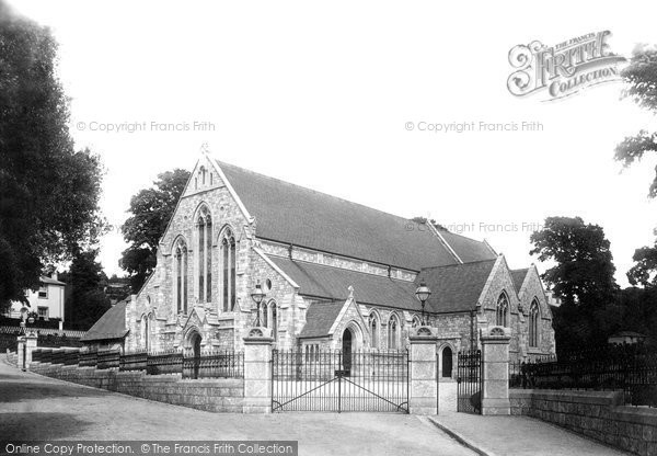 Budleigh Salterton, St Peter's Church 1895