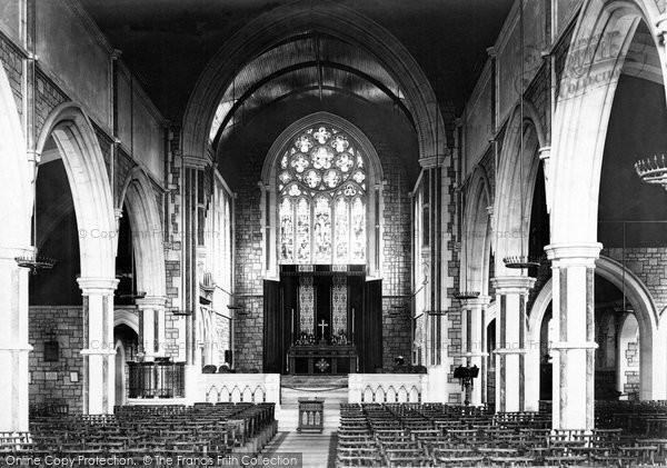 Budleigh Salterton, St Peter's Church Interior 1898