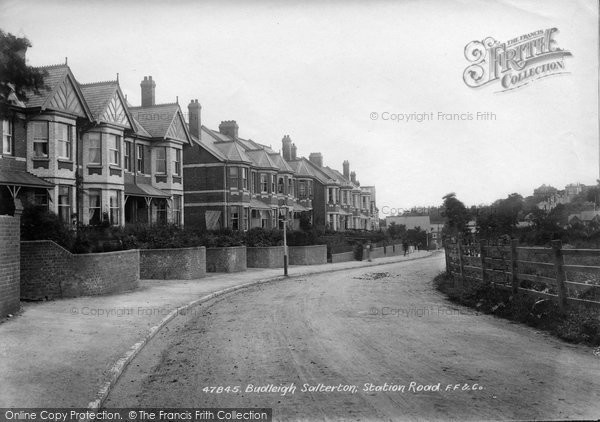 Budleigh Salterton, Station Road 1901