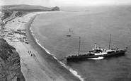 Budleigh Salterton, Steamer Landing Passengers 1914