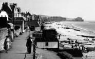 Budleigh Salterton, Taking A Walk c.1960