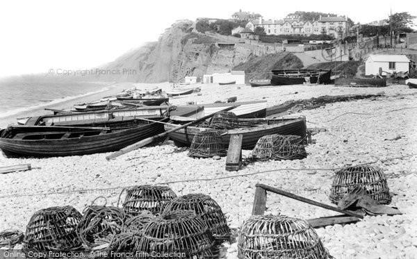Budleigh Salterton, The Beach 1925