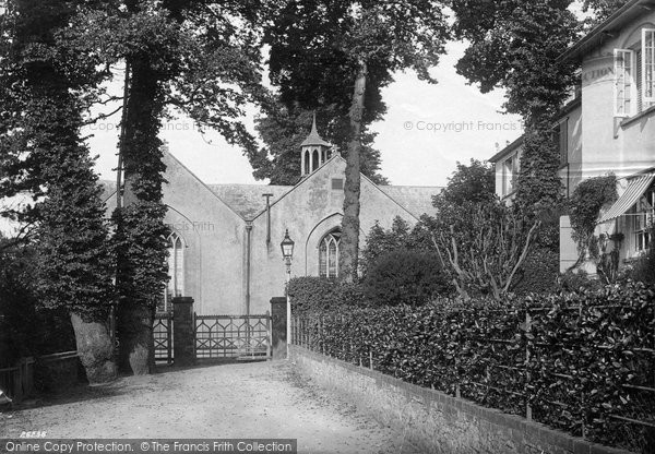 Budleigh Salterton, The Church 1890