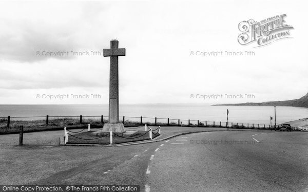 Budleigh Salterton, The Memorial c.1960