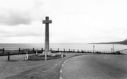 Budleigh Salterton, The Memorial c.1960