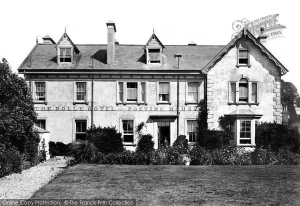 Budleigh Salterton, The Rolle Hotel 1898