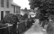Budleigh Salterton, Victoria Place 1906