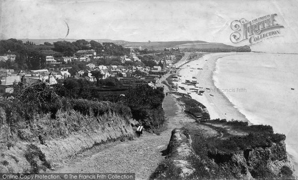 Budleigh Salterton, View From West c.1880
