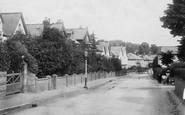 Budleigh Salterton, West Road 1901