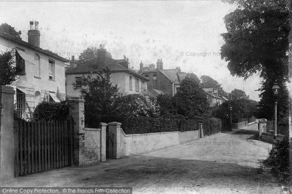 Budleigh Salterton, West Terrace 1906