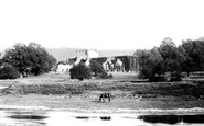 Buildwas, The Abbey From The Ferry 1896
