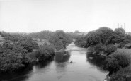 Buildwas, The River c.1960