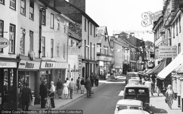 Builth Wells, Broad Street 1963