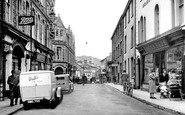 Builth Wells, High Street 1949