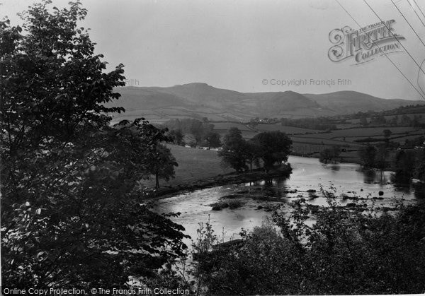 Builth Wells, On The Wye 1936