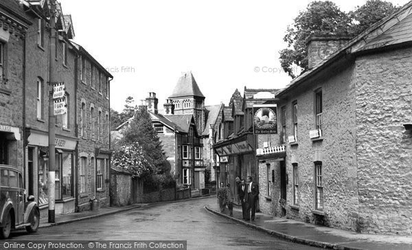 Builth Wells, West Street 1951