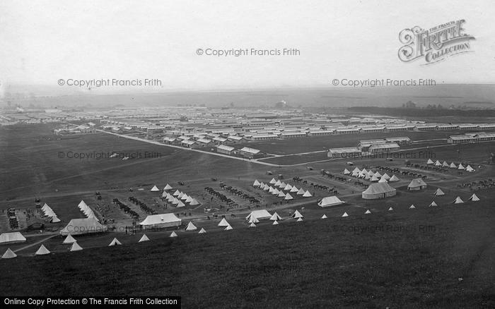 Bulford, Bulford Camp c.1910