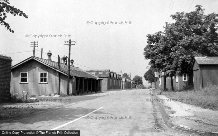 Bulford, Gunner Street c.1955