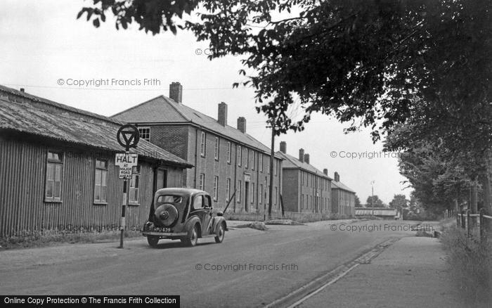 Bulford, Milne Road c.1955