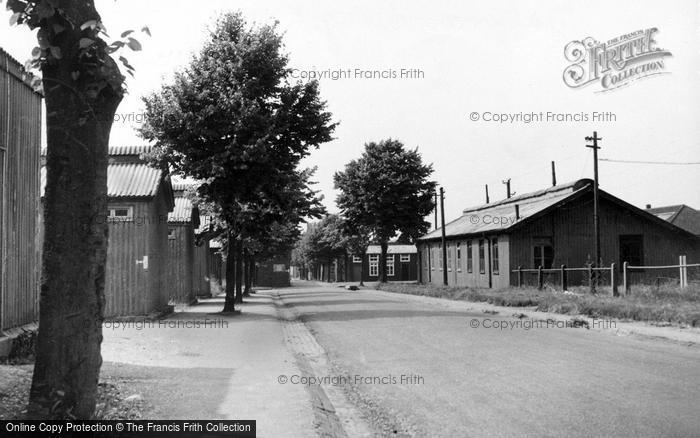 Bulford, Wing Road c.1955