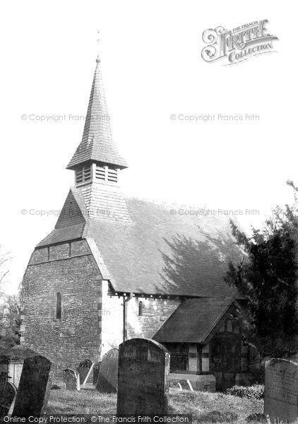 Bulley, St Michaels And All Angels Church 1914