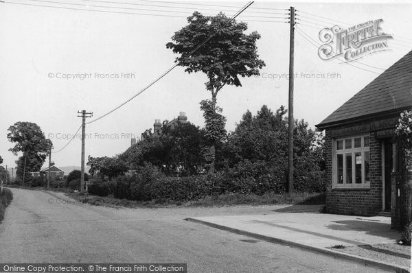 Bulphan, Church Road c.1955