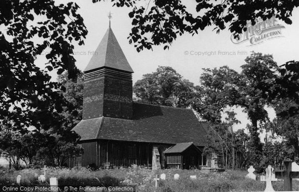 Bulphan, The Church Of St Mary The Virgin c.1955