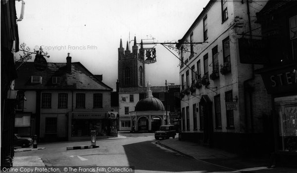 Bungay, Butter Cross c.1965