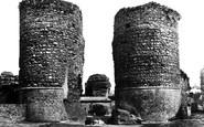Bungay, Castle c.1955