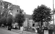 Bungay, Holy Trinity Church c.1965
