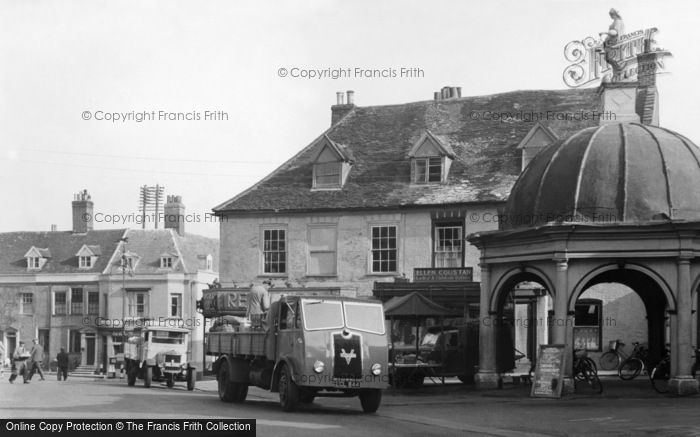 Photo of Bungay, Market Place 1951