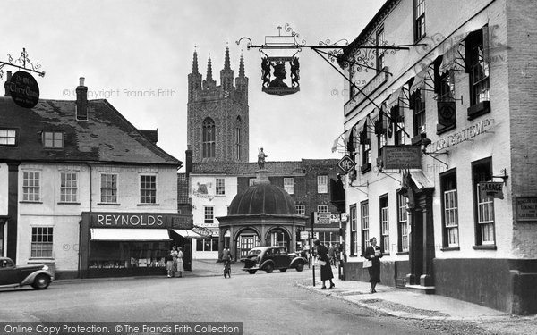 Bungay, Old Market Place 1957