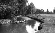Bungay, River Waveney c.1955