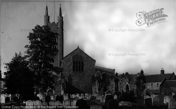 Bungay, St Mary's Church c.1960