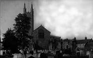 Bungay, St Mary's Church c.1960