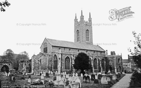 Bungay, St Mary's Church c.1965