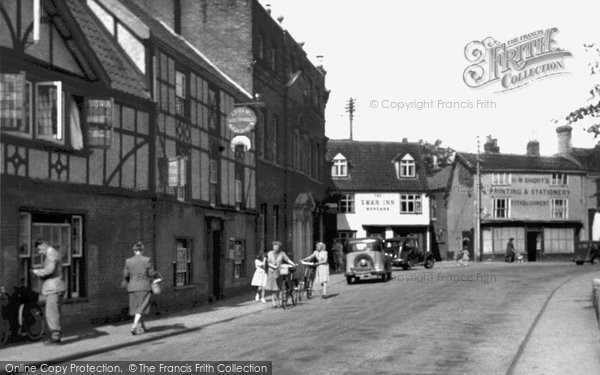 Bungay, The Fleece Hotel c.1955