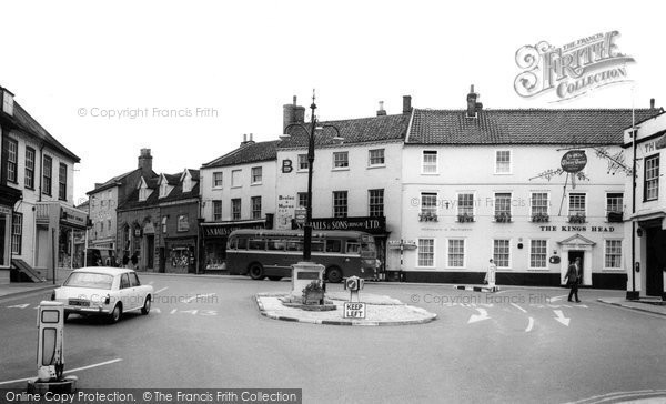 Bungay, The Market Place c.1965