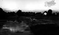 Bungay, The River Waveney c.1955