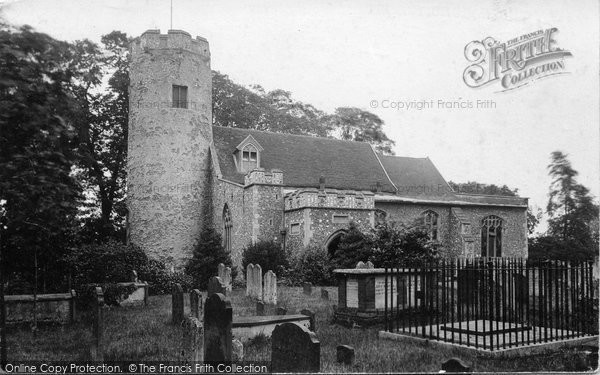 Bungay, Trinity Church c.1900