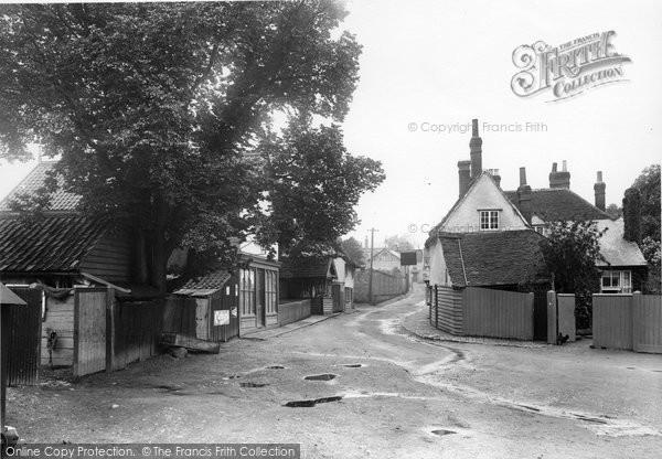 Buntingford, Great Lane 1922