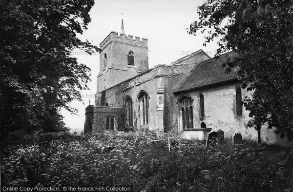 Buntingford, Layston Church 1929