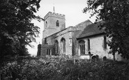Buntingford, Layston Church 1929