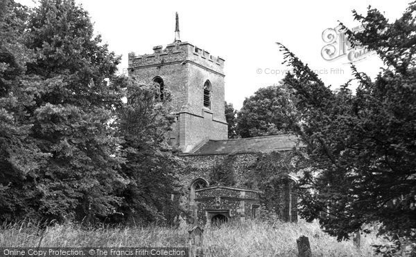 Buntingford, Layston Church c.1950