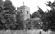 Buntingford, Layston Church c.1950