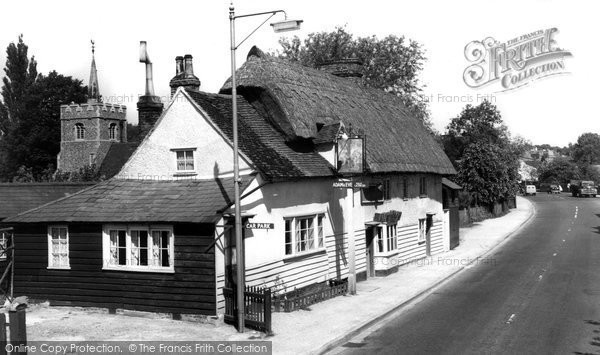 Buntingford, London Road c.1955
