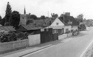 Buntingford, The Adam And Eve Public House, London Road c.1955