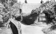 Buntingford, The River Rib c.1955
