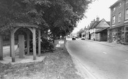 Buntingford, Village Pump And High Street c.1965